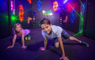 Laser Maze | Thrills Laser Tag & Arcade - Miramar Beach / Destin / HWY 30A - Florida